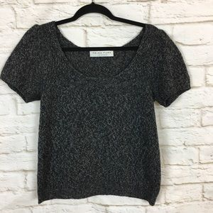 Trina Turk Short sleeve Knit Sweater Size Small